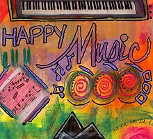 House of Happy Music by © Angela L Walker