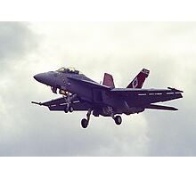 US F-A18 Hornet in Australia Photographic Print