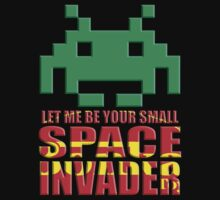 Small Space Invader! by Robin Brown