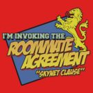 The Big Bang Theory - Roommate Agreement Skynet Clause by metacortex
