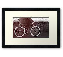 Fixie Bike Framed Print