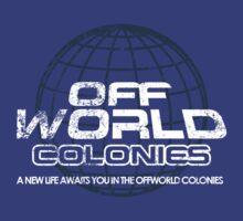 Blade Runner - Offworld Colonies Vintage by metacortex