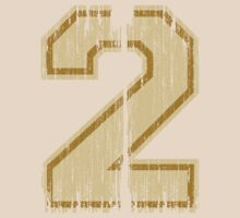 Vintage Distressed Sports Number 2 by Adam Campen