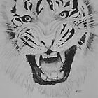 Tiger #1 by JohnBiondo