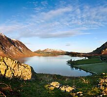 crummock water panorama by paul mcgreevy