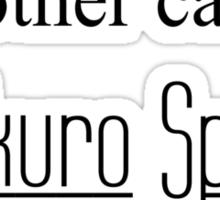 Takuro Spirit 2 Sticker