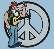 Peace by MarijuanaTshirt