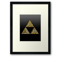 The Legend of Triforce Framed Print
