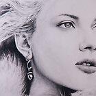 Scarlett Johansson by Valerie Burke