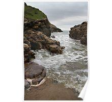 Turning Tide - Mewslade Bay Poster