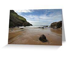Mewslade Bay - Wales Greeting Card
