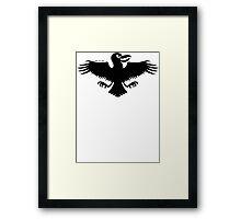 Halloween Naughty Crow Framed Print