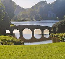 The Palladian Bridge by Christine Lake