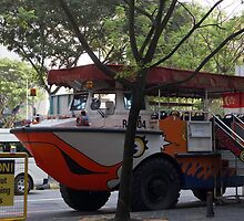Amphibious vehicle used for ducktour in Singapore by ashishagarwal74