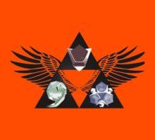 Zelda - Ocarina of Time Spiritual Stones by LicencedBandit