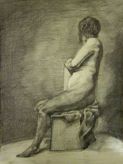 Seated Figure by Christopher Boring