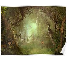 Butterfly Grove Poster