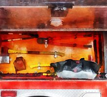 Firemen's Tools of the Trade by Susan Savad