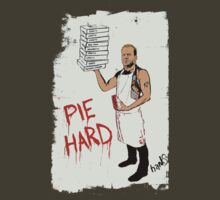 Pie Hard by Hanksy by jamessasek