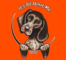 German Shorthaired Pointer :: It's All About Me by offleashart