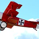 Fokker Dr1, World War One Triplane, the Red Baron by Craig Stronner