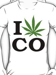 I Marijuana Colorado T-Shirt