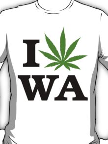 I Marijuana Washington T-Shirt