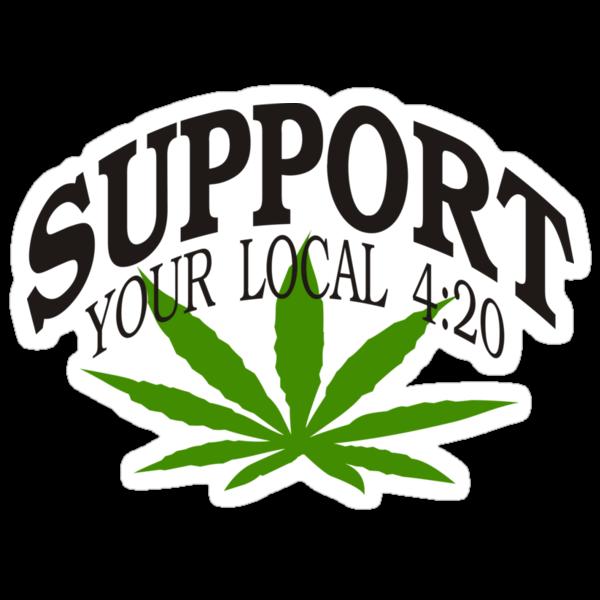Marijuana 420 by MarijuanaTshirt