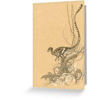 Leaellynasaura Greeting Card