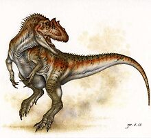 Allosaurus by Himmapaan