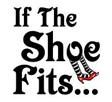 Wizard of Oz - If The Shoe Fits Photographic Print