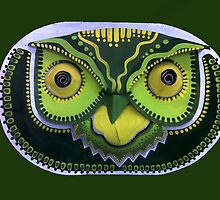 Owl Mask by Subrangie