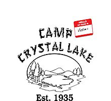 Camp Crystal Lake Photographic Print