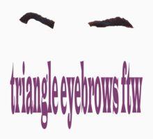 darren criss eyebrows by rachick123