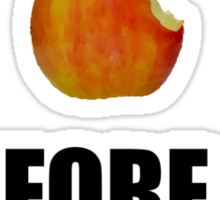 I always liked apples... Sticker