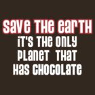 Save the Chocolate by ezcreative