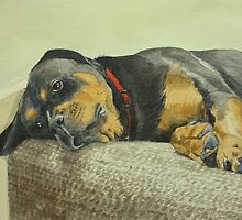 Tia at the Top by Lynne  Kirby
