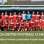 Bloxwich United Team Photo 2012-2013 by Garry Griffiths