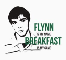 Flynn Loves Breakfast by crashin