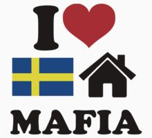 I Love Swedish House Mafia by VectorGraphics