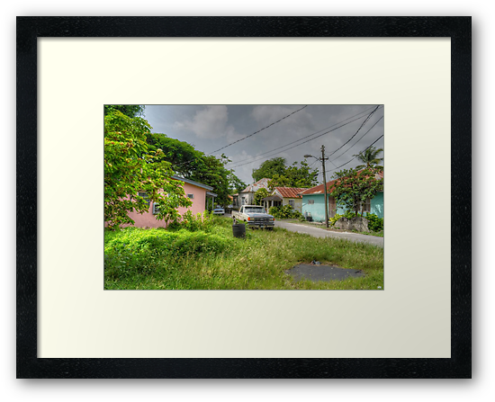 Rural Village in Nassau, The Bahamas by 242Digital