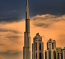 Bhurj Khalifa from Business Bay by Ian Mitchell