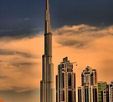 Bhurj Khalifa from Business Bay by Ian Mitchell