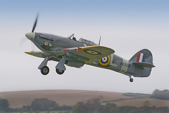 Hawker Hurricane IIb BE505 - Shoreham 2012 by Colin J Williams Photography