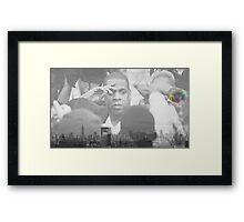 Born and Raised Framed Print