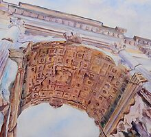 Arch of Titus by JennyArmitage