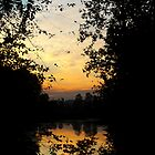 River Sunset by kendlesixx