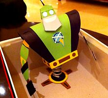 "Paper Robot Captain Qwark - ""Craftain Qwark"" by Sam Novak"