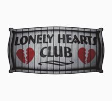 Lonely Hearts Club - Sticker by CreativoDesign