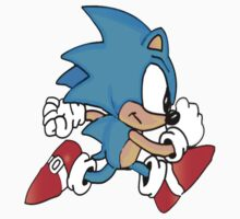 Sonic Running by gmanquik